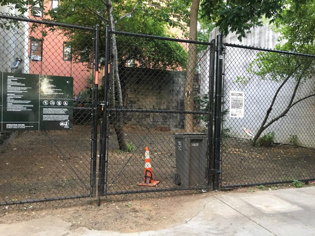 Debris removed, ground leveled