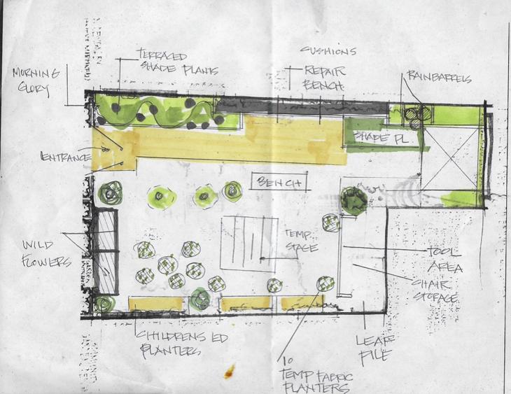 Garden Design I by Lori K.
